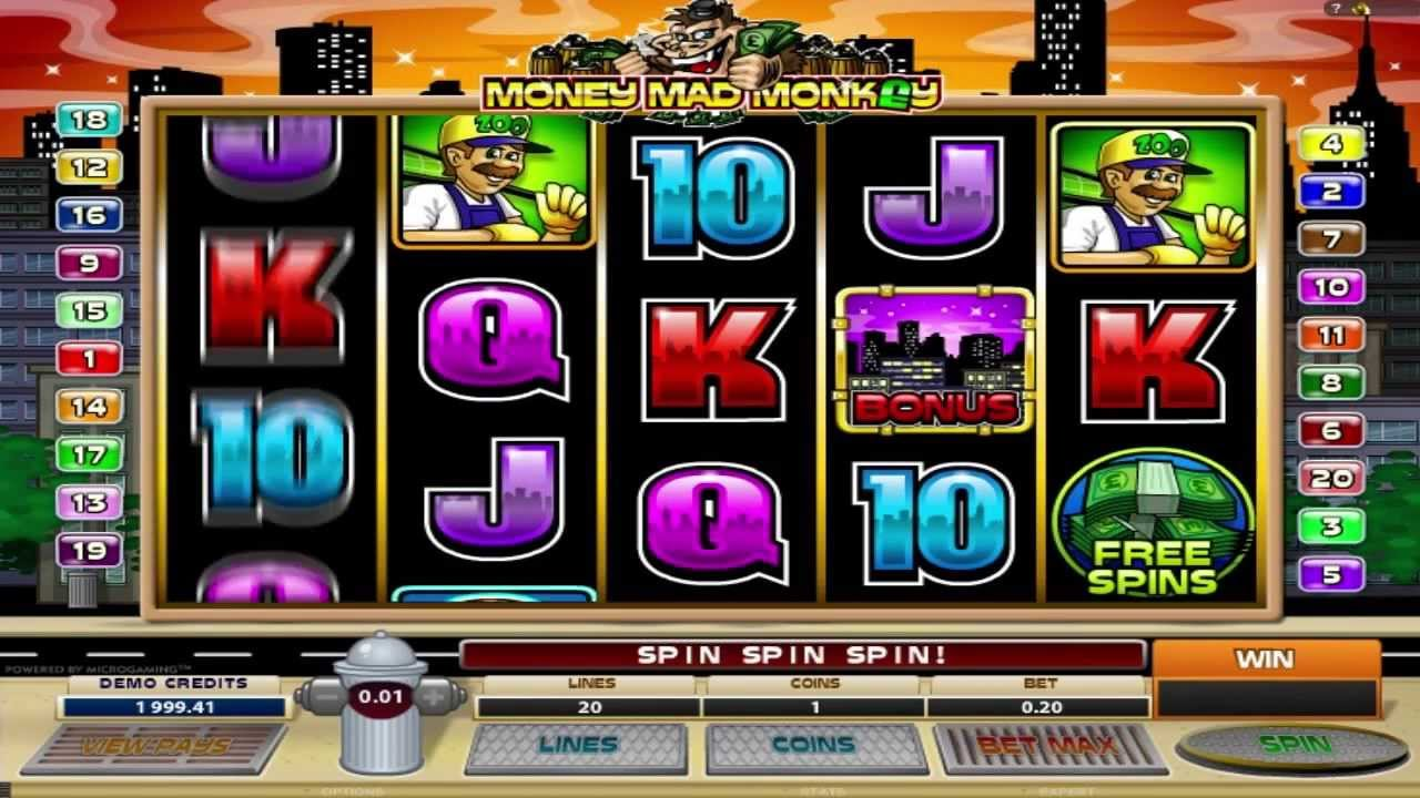 Spiele MonkeyS Money - Video Slots Online