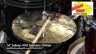 14 sabian hhx evolution hi hats the drum shop north shore