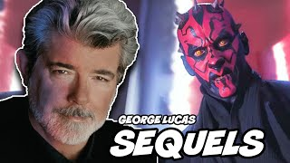 George Lucas ORIGINAL Sequel Trilogy Revealed (MAUL AND LUKE RETURN)