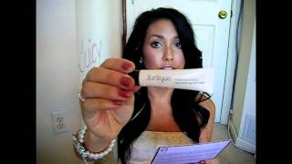 September Birchbox PLUS my new hair and faux feather extension! Thumbnail