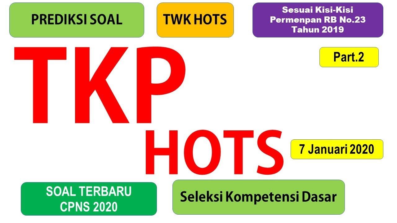 Soal TKP CPNS 2020 Sesuai Kisi-Kisi Permenpan RB No.23 ...
