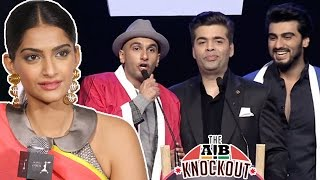 Sonam Kapoor Comment On AIB KNOCKOUT CONTROVERSY