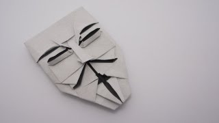 Origami Guy Fawkes Mask (Brian Chan)