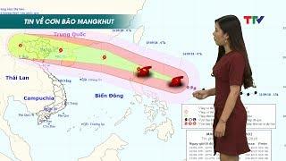Hướng đi mới nhất của siêu bão Mangkhut, giật cấp 17