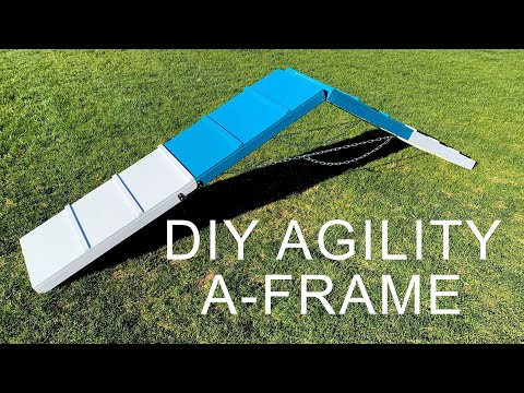 DIY Agility A-Frame For Dogs | How To Build