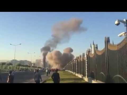 15 Temmuz Darbe Gişirimi Ankara'da F16 Saldırısı
