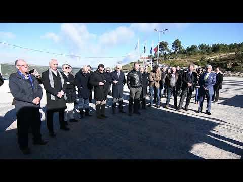 Inauguração da rede de gás natural em Vila Pouca de Aguiar