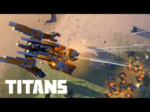 Planetary Annihilation: TITANS - 4vs4 Total Annihilation | Multiplayer Gameplay