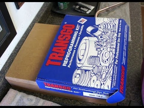 Turbo Hydro 400 TRANSGO 400 1 2 Shift Kit Install Part1