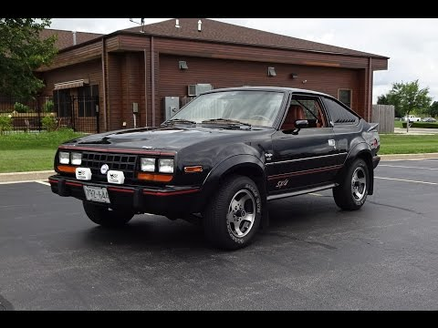1983 AMC Eagle Sport SX/4 4x4 Car In Black Paint & Engine Start On My Car Story With Lou Costabile