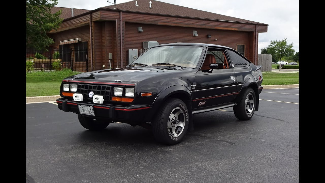 1983 AMC Eagle Sport SX/4 4x4 Car In Black Paint & Engine