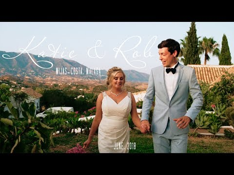 Katie & Rob. Wedding video at Hacienda San Jose, la Cala de MIjas, Malaga
