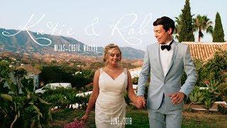 Katie & Rob. Wedding video at Hacienda San Jose, la Cala de MIjas, Malaga