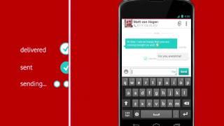 Vodafone Message+ screenshot 2