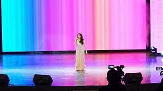 """""""SALAMAT"""" HONG SUNG HEE [SINGING CATEGORY] In ALIW THEATER  2019 PART 3 {FANCAM}"""