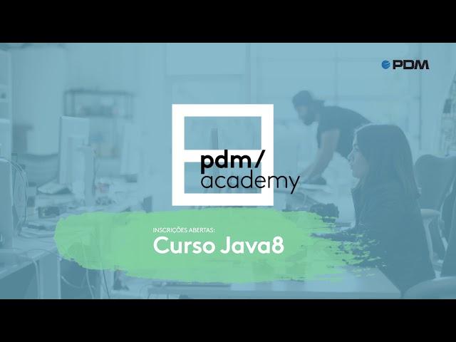 👨🏻🎓 PDM academy | JAVA8