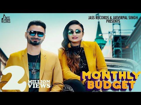 Monthly Budget | Full Hd | Meet Brar & Harmandeep | New Songs 2020 | Jass Records