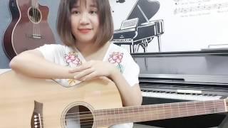 [Cover & Hướng dẫn Guitar] Girls like you | Cơ bản và Palm