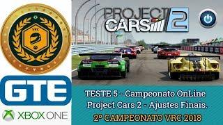 TESTE 5 - Campeonato OnLine -  Ajustes Finais.