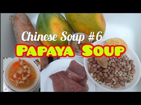 SOUPYLICIOUS PAPAYA WITH BEANS & PEANUTS| Chinese Soup #6