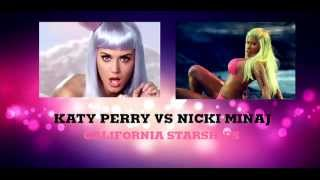 Katy Perry Vs Nicki Minaj - California Starships (Josh R Mashup Remix)