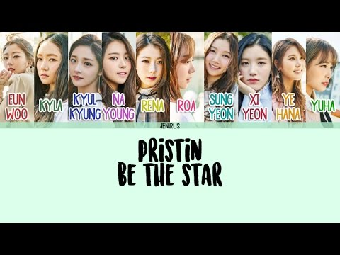 Free Download Pristin - Be The Star [eng/rom/han] Color Coded Lyrics Mp3 dan Mp4