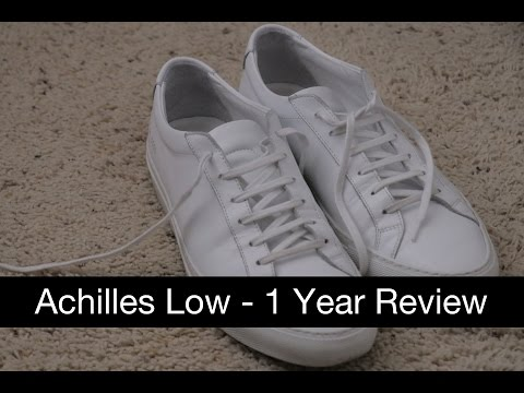 Common Projects Achilles Low - 1 Year Review