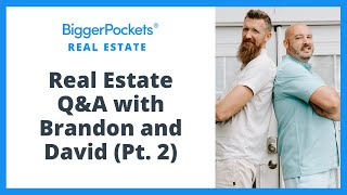 LIVE Real Estate Investing Q&A (Pt. 2)
