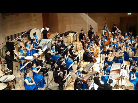 Orchestra of Radio Shaanxi and Province of Zhejiang. part1 (09.02.2017) Moscow