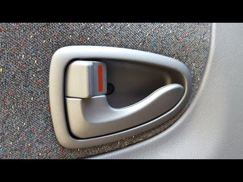 Ремонт ручки открывания двери на Хендай акцент (Hyundai Accent) 2007 г.в. своими руками.