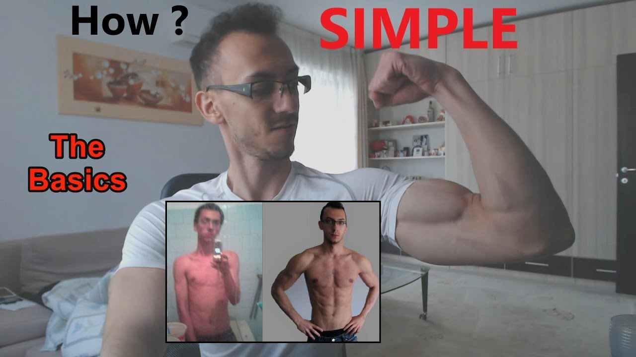 How to BUILD MUSCLES? The basic SIMPLE tips - YouTube