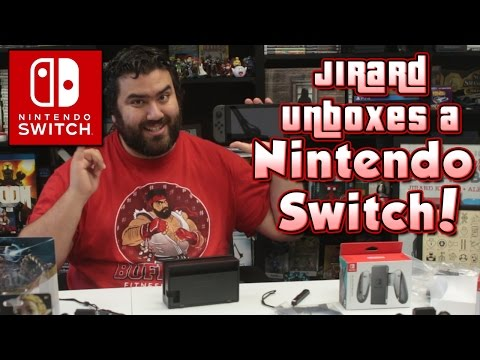 Nintendo Switch Unboxing - Switch Review, Pro Controller, and SO MANY Amiibos!!