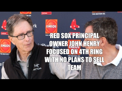 Boston Red Sox Owner John Henry focused on 4th Ring Not Selling Team