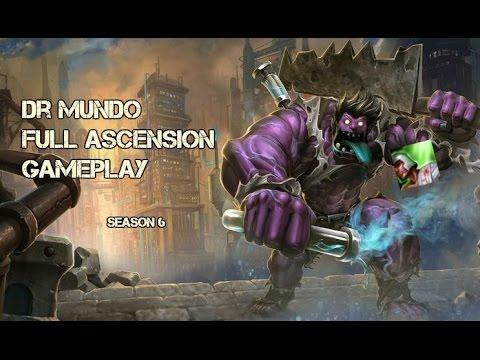 Dr. Mundo Ascension Season 6 - League of Legends 2016