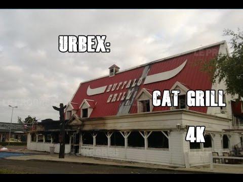 URBEX: cat grill (buffalo grill) 4K