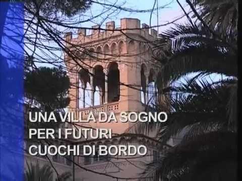 Una villa da sogno per i futuri cuochi di bordo youtube for Piani di progettazione di una villa
