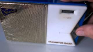 """Test für Ebay : DDR Transistorradio """" Sternchen """" / Baujahr 1959 - 60"""