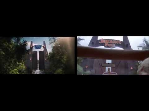 NEW Jurassic Park World Trailer - Look Familiar? Edition (HD)