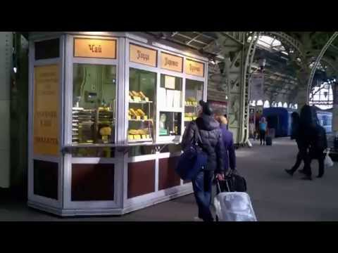 Прогулка по Витебскому вокзалу + Санкт-Петербург - Павловск на электричке