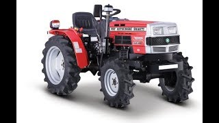 VST Shakti 18 hp Tractor with 5 in 1 Multipurpose Cultivator
