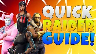 Best Setup For Raider Soldiers | Fortnite Save The World Raider Build