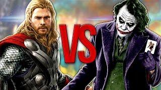 Скачать СУПЕР РЭП БИТВА Тор VS Джокер MARVEL Против DC
