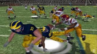 NCAA Football 07 PS2 Gameplay HD