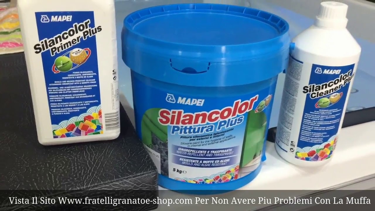 Pittura Antimuffa Anticondensa Mapei Kit Pittura Antimuffa