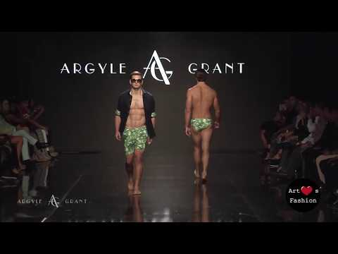 ARGYLE GRANT at Art Hearts Fashion Los Angeles Fashion Week