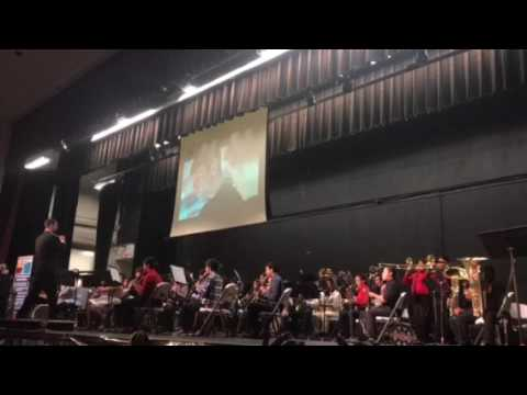 Symphonic Suite from Star Trek Mchi Band 2017 concert