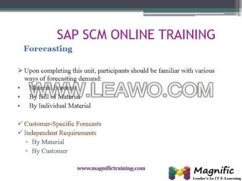 SAP SCM ERP Procurement certification course in online training 2 ...