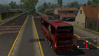 ETS2. VERSION  1.30 MAPA COLOMBIA DIRECTO. VARIANTE DOBLE CALZ…