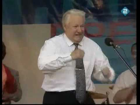 Highlights Boris Yeltsin (Funny moments).mp4