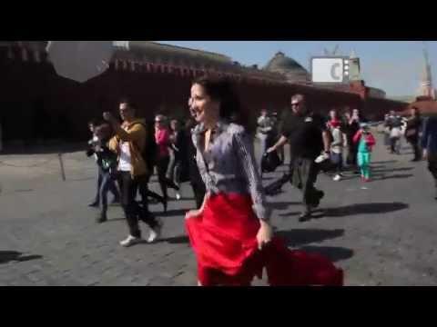 Natalia Oreiro did a photo shoot on Red Square / Фотосессия Наталии Орейро на Красной площади